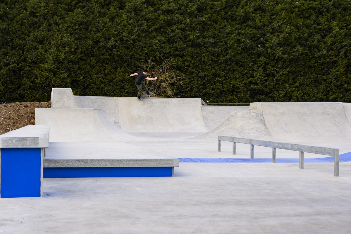 Lady Bay Skate Park - Nick Warman Pivot Fakie