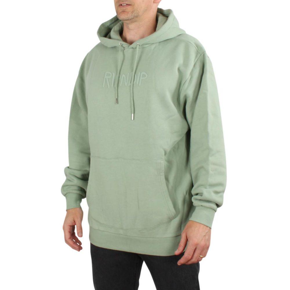 RIPNDIP Rubber Logo Pullover Hoodie - Sage