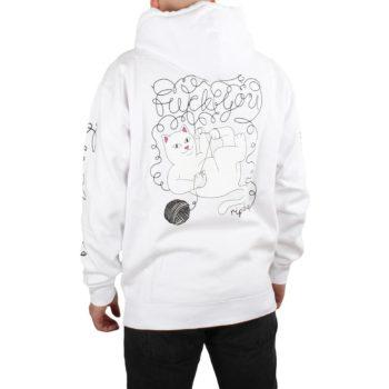 RIPNDIP Tangled Pullover Hoodie - White