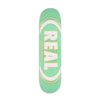 Real Oval Burst Fade 7.75 Green