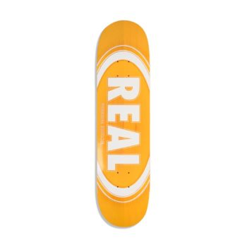 Real Oval Burst Fade 8.06 Orange
