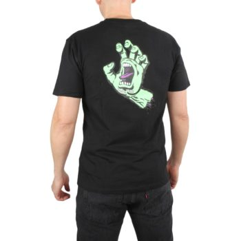 Santa Cruz FSU Hand S/S T-Shirt - Black