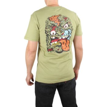 Santa Cruz Rob Face S/S T-Shirt - Sage