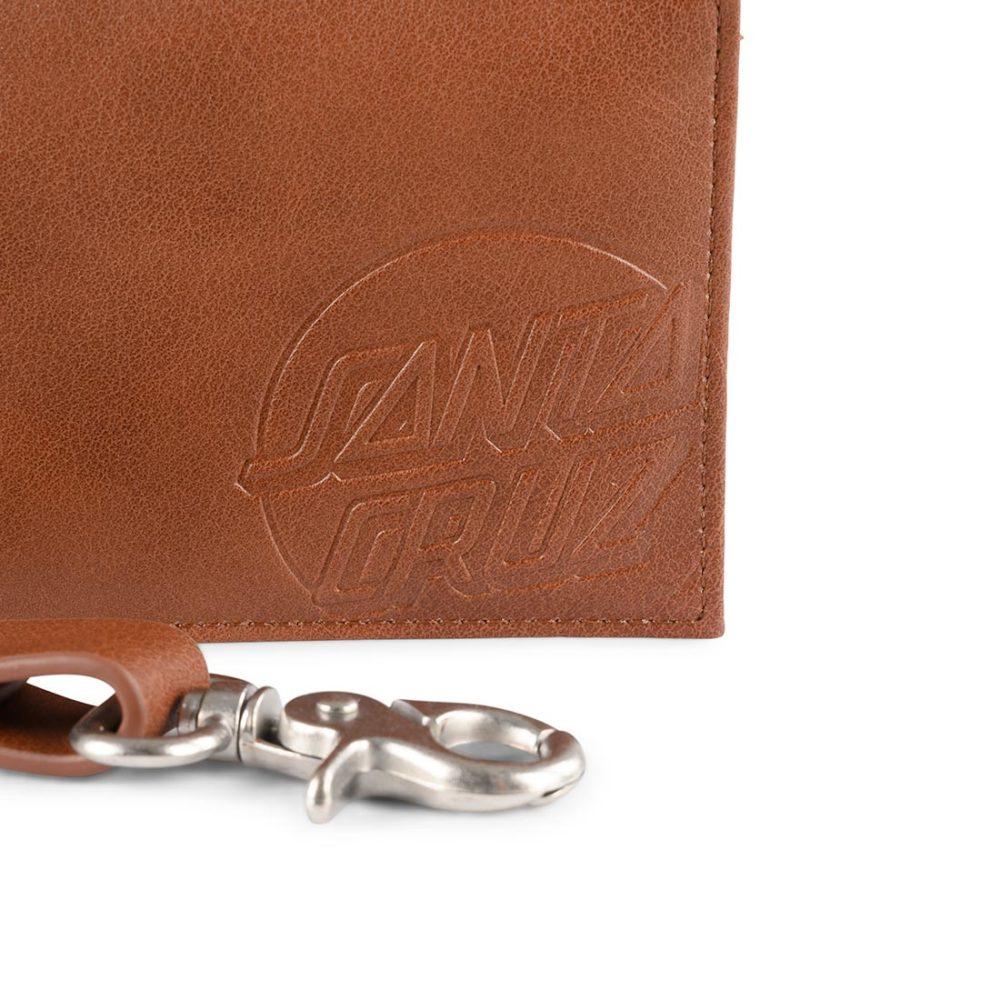 Santa Cruz Opus Dot Chain Wallet Brown