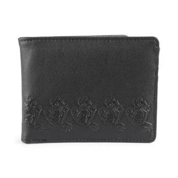 Santa Cruz Screamer PU Leather Wallet Black