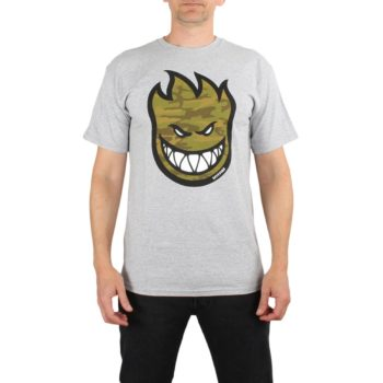 Spitfire Bighead Fill T-Shirt - Athletic Heather / Camo