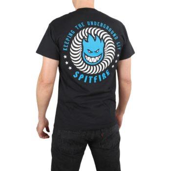 Spitfire KTUK S/S T-Shirt - Black / Blue