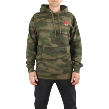 Spitfire Lil Bighead Hombre Hoodie - Forrest Camo / Red