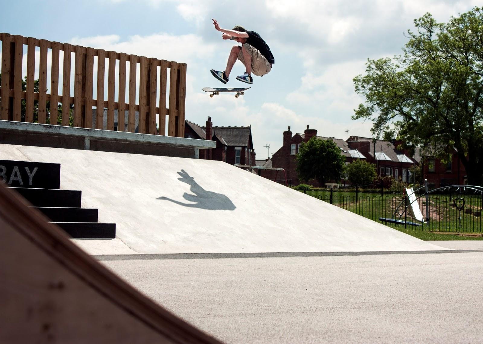 Rob Nelson FS Flip Lady Bay Skatepark V3