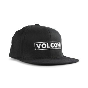 Volcom Bartar 110 Snapback Cap - Black