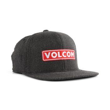 Volcom Bartar 110 Snapback Cap - Charcoal Heather