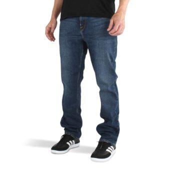 Volcom Solver Denim Jeans - Tokyo Indigo Blue