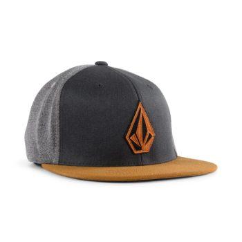 Volcom Stone Stack JFit Flexfit Cap - Rust