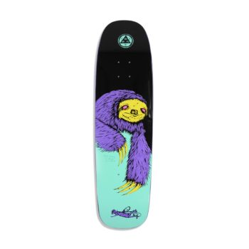 Welcome Sloth on Son of Golem 8.75 Black Teal