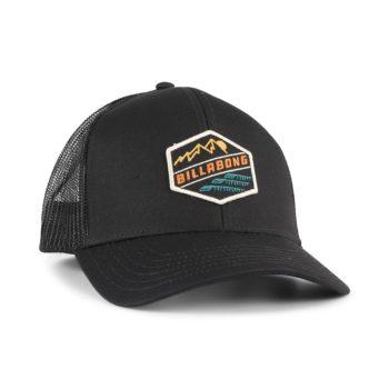 Billabong Walled Adiv Mesh Back Trucker Cap – Black