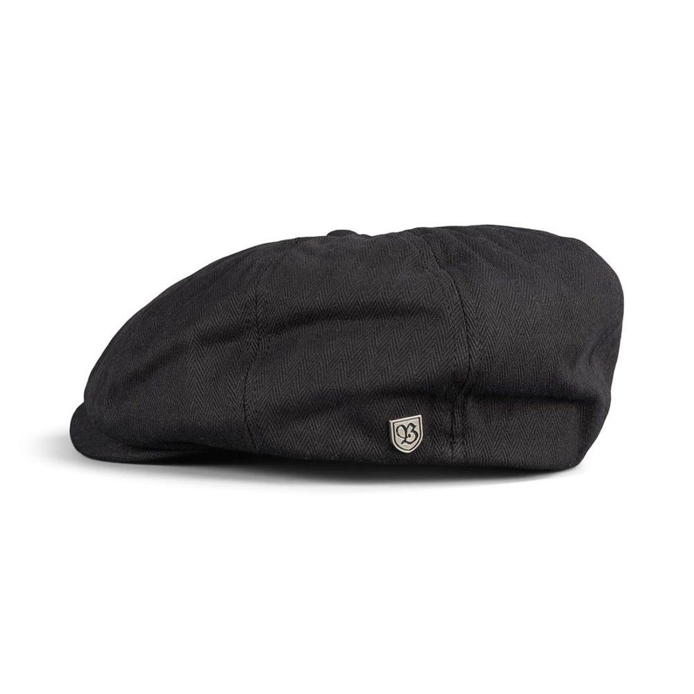 Brixton Brood Snap Cap - Black