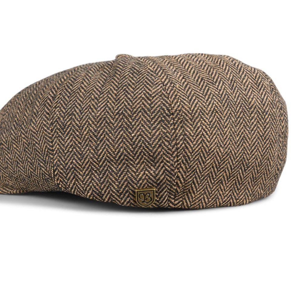 Brixton Brood Snap Cap - Brown / Khaki