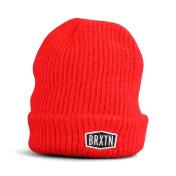 Brixton Malt Beanie Hat - Red