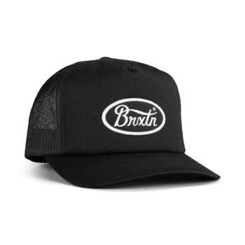 Brixton Parsons Mesh Back Trucker Cap - Black