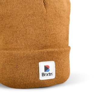 Brixton Stowell II Beanie Hat - Copper
