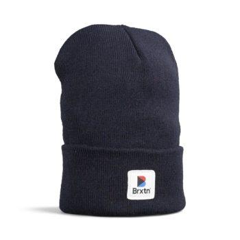 Brixton Stowell II Beanie Hat - Dark Navy
