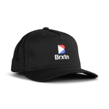 Brixton Stowell II Snapback Hat - Black