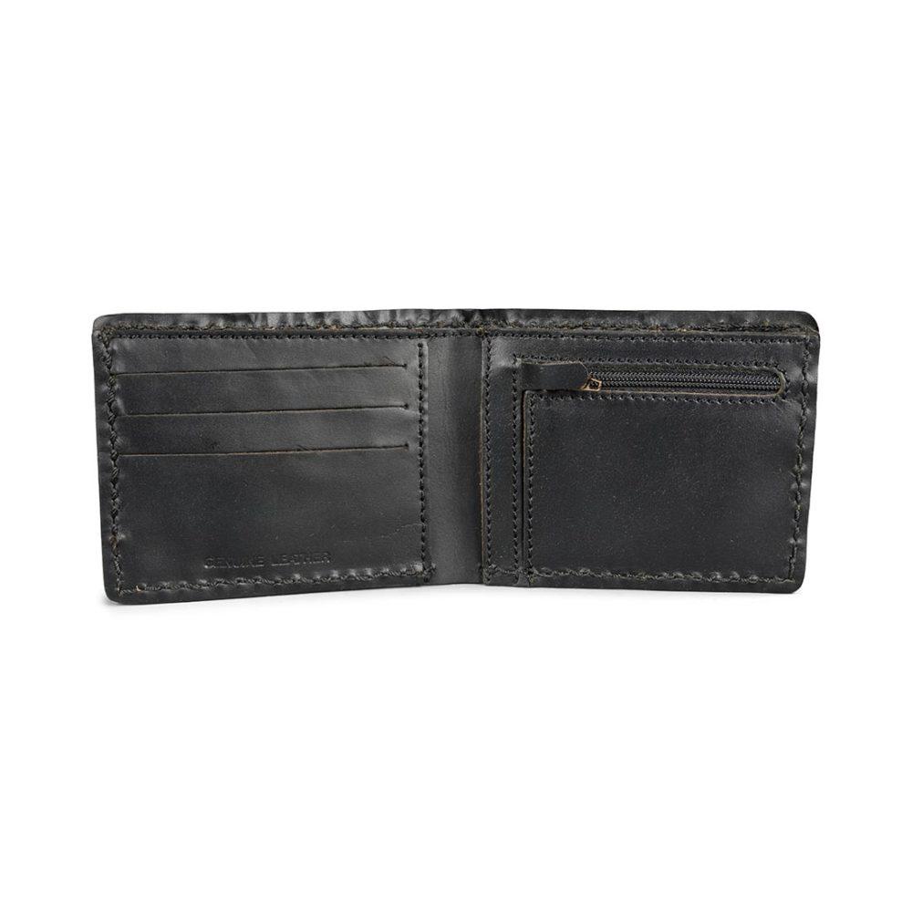 Dickies Coeburn Leather Wallet – Black