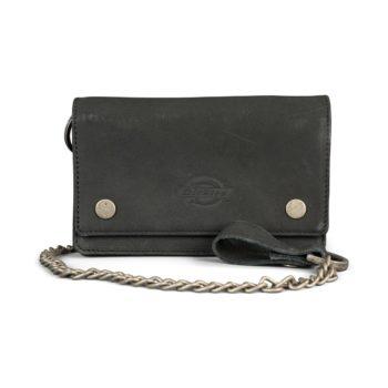 Dickies Deedsville Leather Wallet - Black