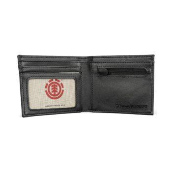 Element Bowo PU Wallet - Flint Black