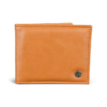 Element Bowo PU Wallet – Rust Brown