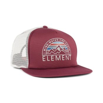 Element Odyssey Trucker Cap – Napa Red