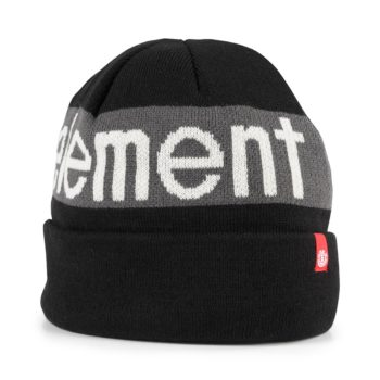 Element Primo Beanie Hat – Flint Black