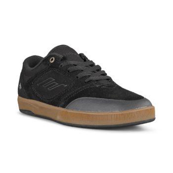 Emerica Dissent Shoes – Black / Gum