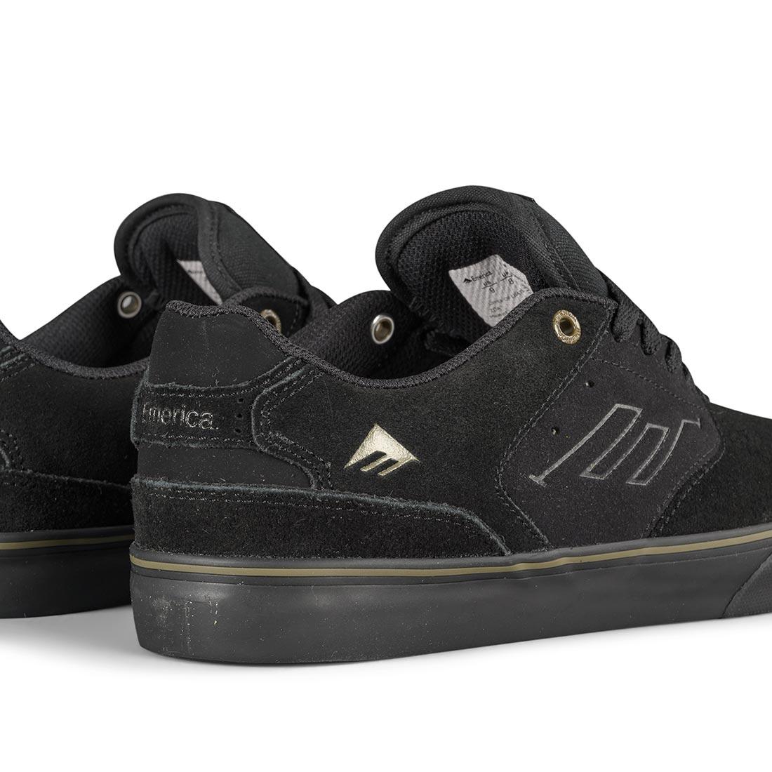 Emerica Reynolds Low Vulc Shoes - Black