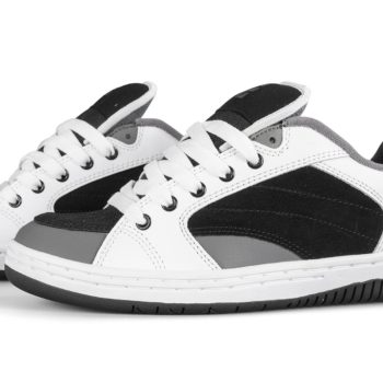 Etnies Czar Shoes – White / Black / Grey