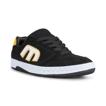 Etnies Lo-Cut Shoes – Black / White / Yellow