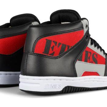 Etnies MC Rap High Shoes – Black / Red / Grey