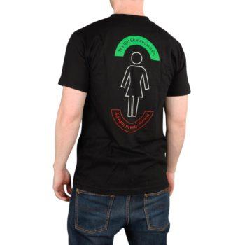 Girl Skateboards Network S/S T-Shirt - Black