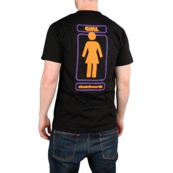 Girl Skateboards OG Stack S/S T-Shirt - Black