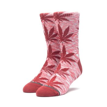 HUF Plantlife Socks Red