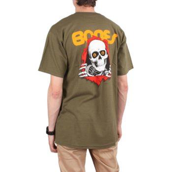 Powell Peralta Ripper S/S T-Shirt - Military Green