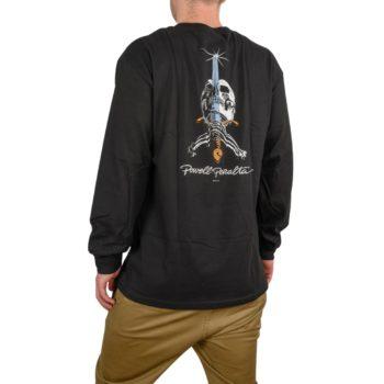 Powell Peralta Skull & Sword L/S T-Shirt - Black