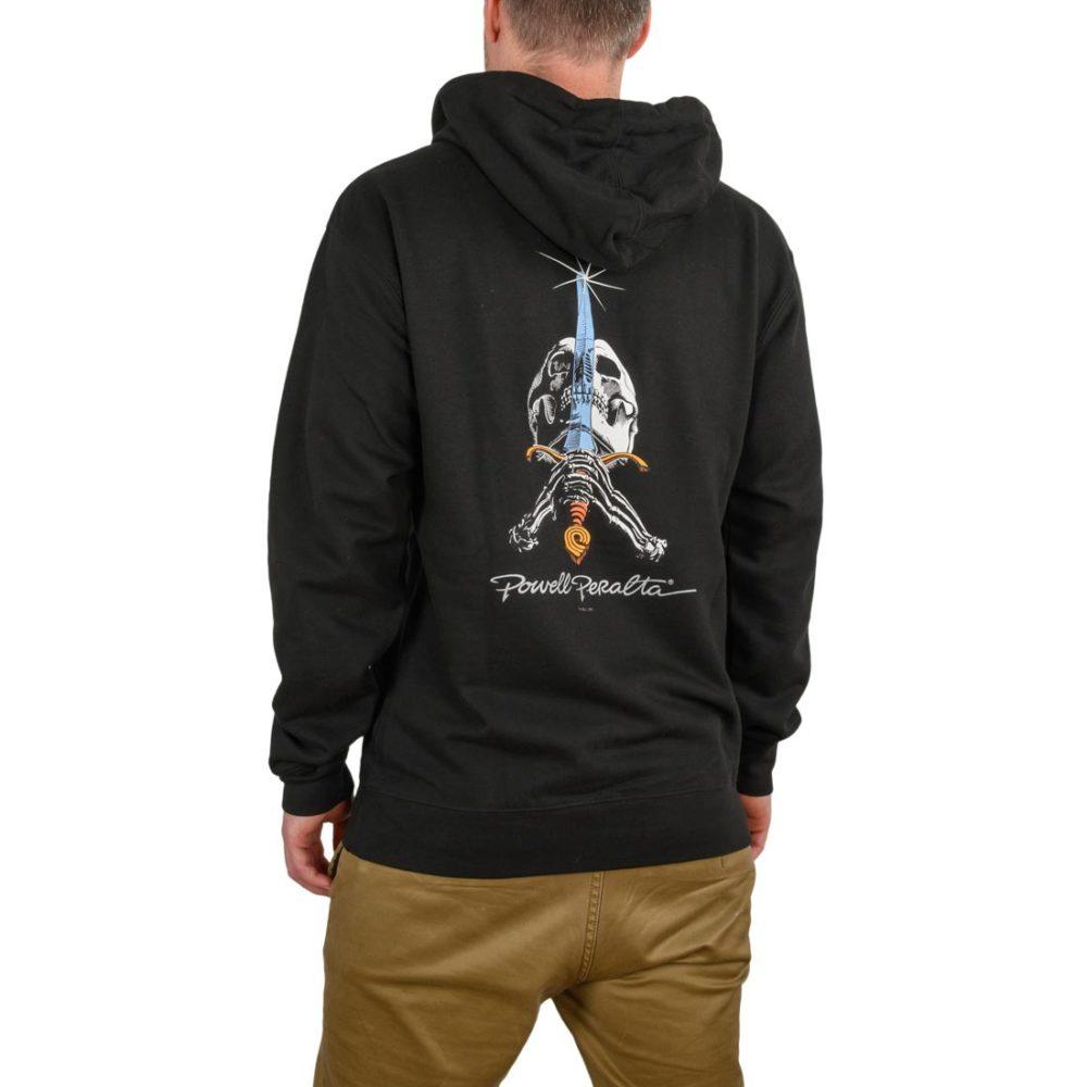 Powell Peralta Skull & Sword Pullover Hoodie - Black