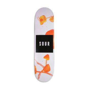 """Sour Solution """"Sour Shrooms"""" 8.125"""" Skateboard Deck"""