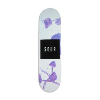 """Sour Solution """"Sour Shrooms"""" 8.25"""" Skateboard Deck"""