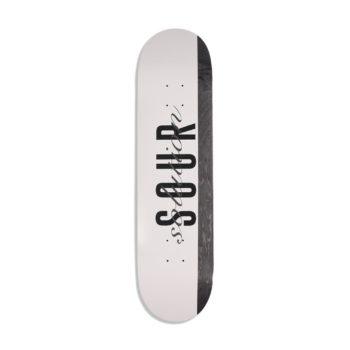 "Sour Solution Wood Script 8.18"" Skateboard Deck"