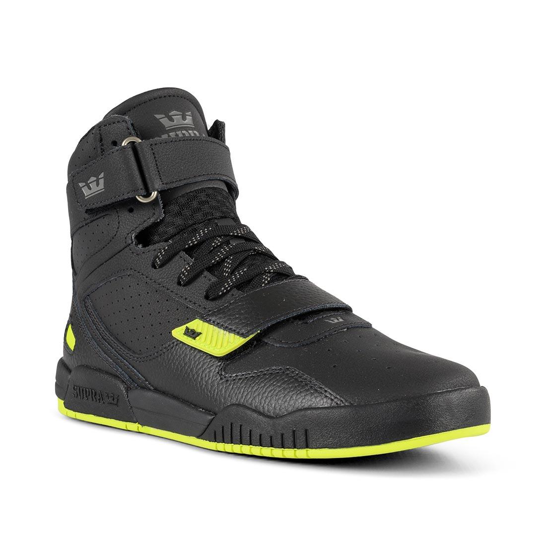 Supra Breaker High Top Shoes - Black