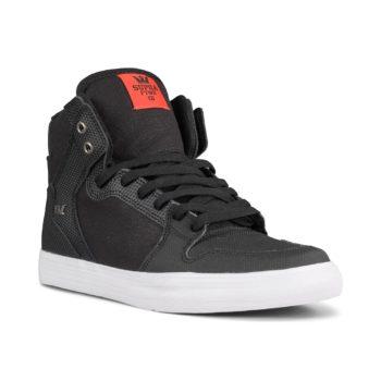 Supra Vaider High Top Shoes – Black / Tuf / White
