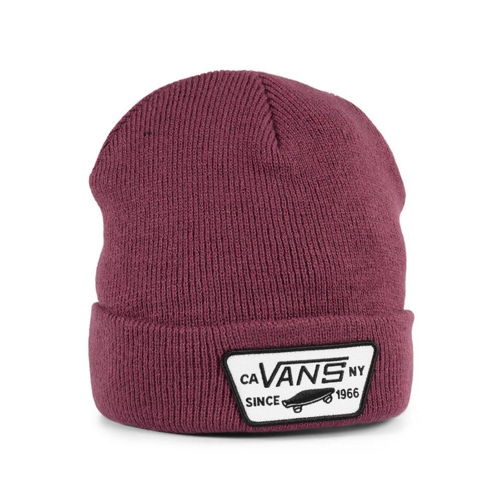 Vans Milford Cuff Beanie Hat - Prune