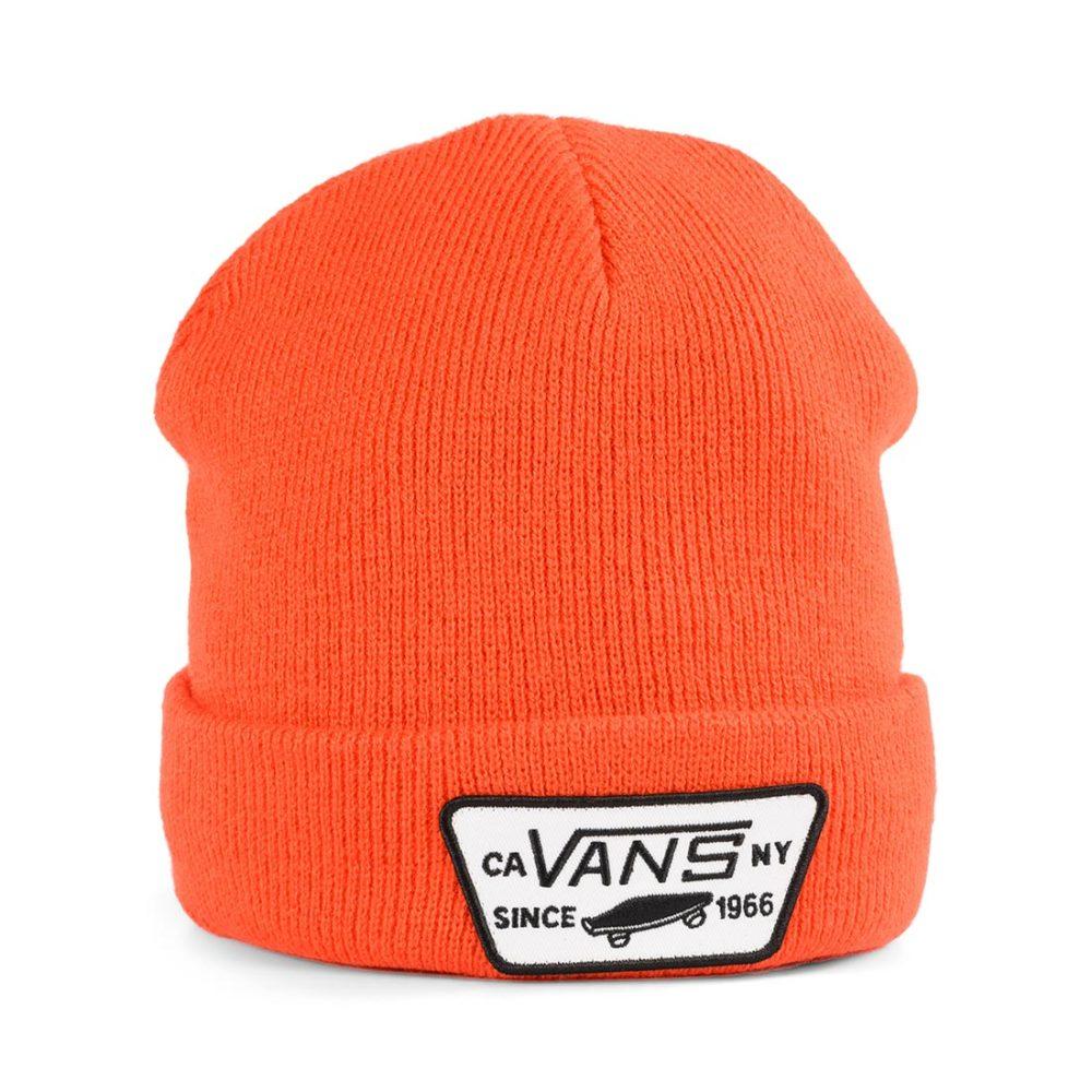 Vans Milford Cuff Beanie Hat - Spicy Orange